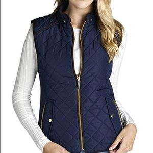 Active USA Size Large Quilted Padres Vest